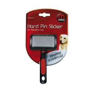 Mikki Slicker Brush Hard Pin - Small
