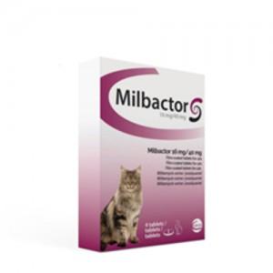 Milbactor grote katten 4 tabl.