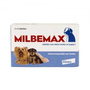 Milbemax 2 x 2 tabl puppy-kleine hond
