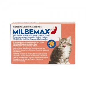 Milbemax kleine kat 2 tabletten