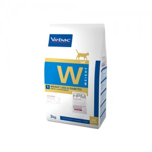 HPM Veterinary Dietetic Cat - Weight Loss & Diabetes 3 kg