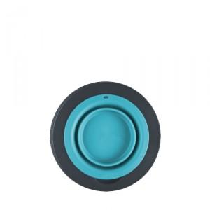 Popware Single Elevated Feeder - Large - Blauw
