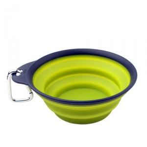 Popware Travelcup met Karabijnhaak - Groen - 473 ml.
