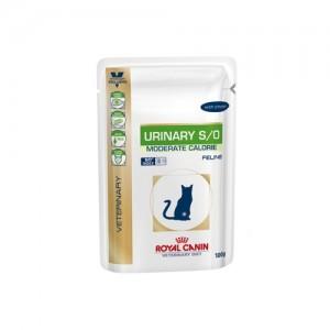 Royal Canin Urinary S/O Moderate Cal. kat - zalm 48x100 g