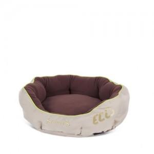 Scruffs Eco Donut Bed - beige/bruin - L - 65 cm