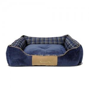 Scruffs Highland Box Bed - Blauw - XL