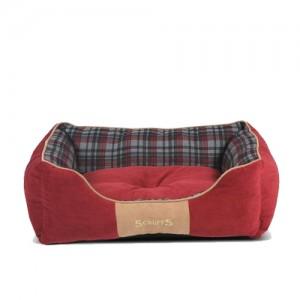Scruffs Highland Box Bed - Rood - S