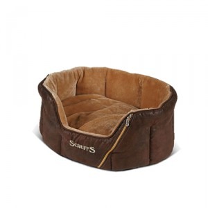 Scruffs Ranger Donut Bed - S - 46 x 36 x 20 cm - Bruin