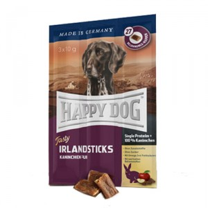 Happy Dog Supreme - Sensible Tasty Irland Sticks 3x10gr. (Konijn)