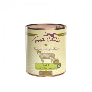 Terra Canis Classic Veal with Millet - 6 x 800 gram