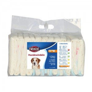 Trixie Diapers for Female Dogs - XL - 12 stuks