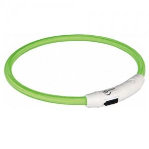 Trixie USB Flash Light Ring - L/XL - Groen