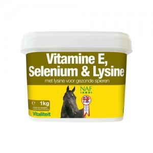 NAF Vitamine E, Selenium & Lysine - 1 kg