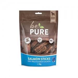 Be Pure Dog Salmon Sticks - 70 gram