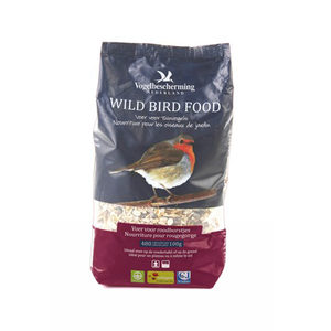Vogelbescherming Strooivoer Roodborstjes - 1,5 L