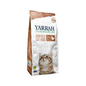 Yarrah - Droogvoer Kat Graanvrij Bio - 2,4 kg